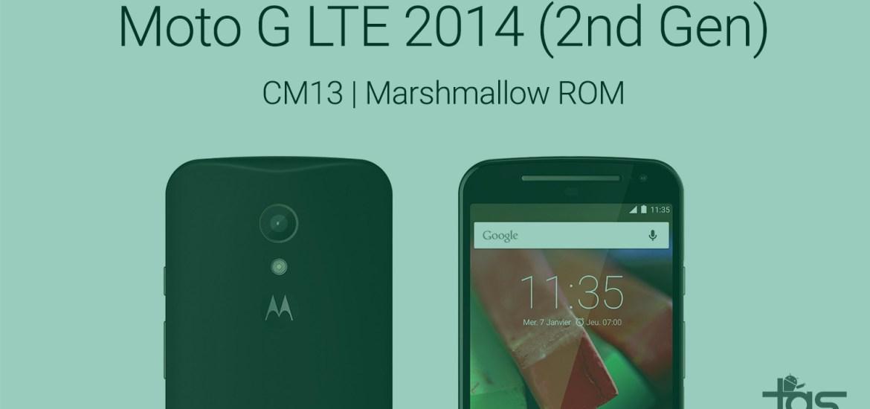 Moto G LTE 2014 Marshmallow ROM