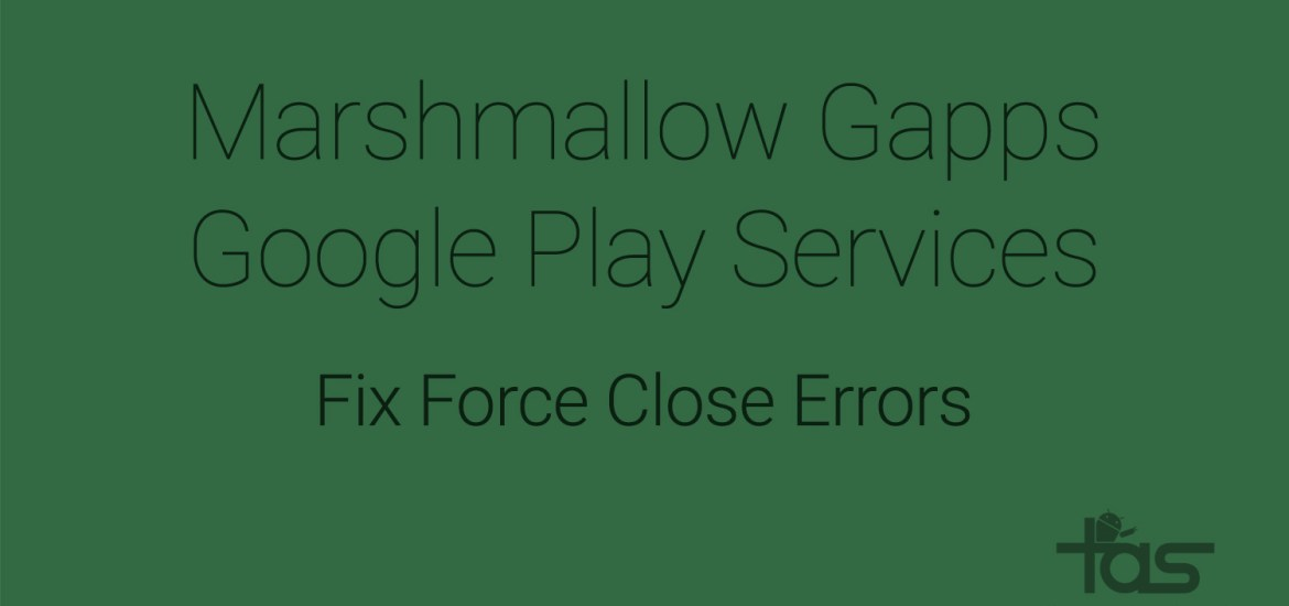 fix Marshmallow google play services error