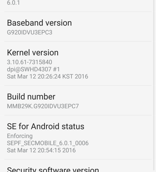G920i Marshmallow firmware