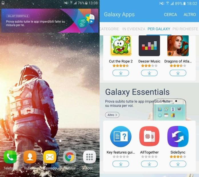 S7 Galaxy App and Widget APK