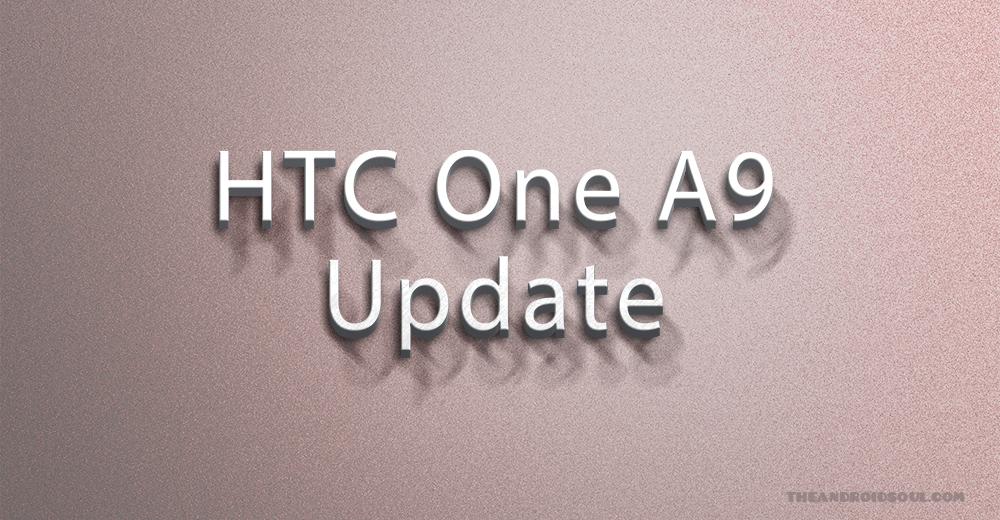HTC One A9 Nougat update