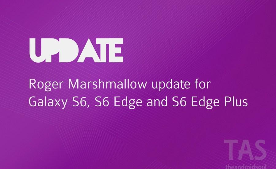 rogers s6 s6 edge plus Marshmallow