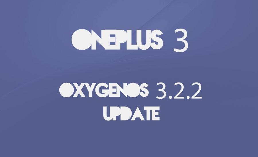 OnePlus 3 update oxygen os 3.2
