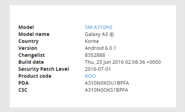 galaxy a3 Marshmallow