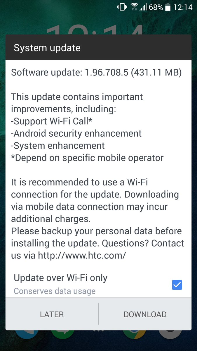 how to download patches on htc 1