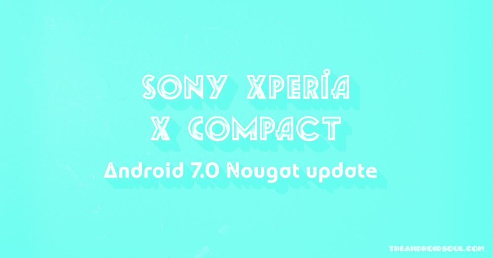 xperia-x-compact-nougat