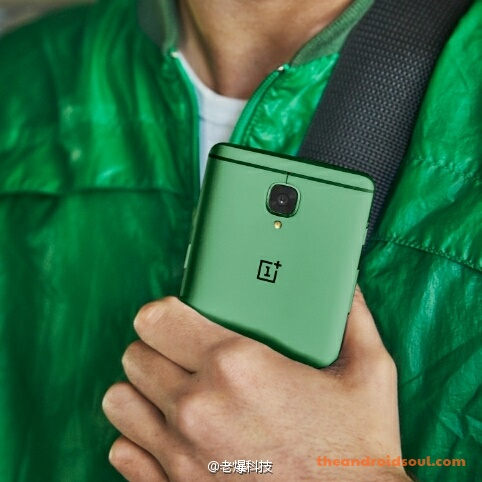 oneplus-3t-green-color