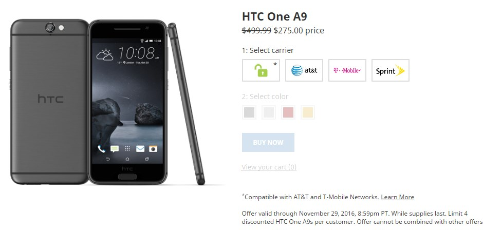 htc-one-a9-black-friday-deal