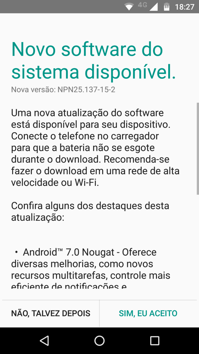 Moto Z Play Nougat Update Europe
