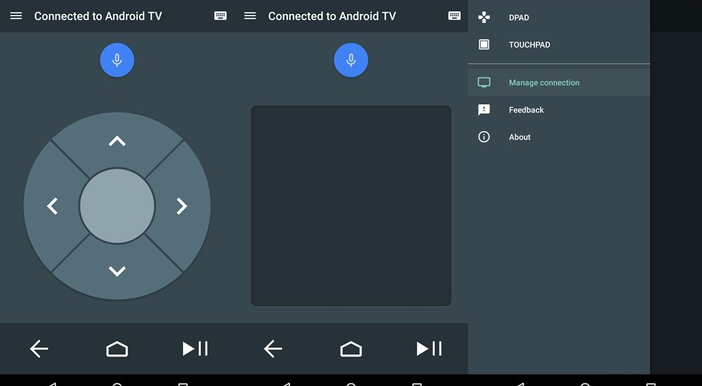 Android TV Remote Service app