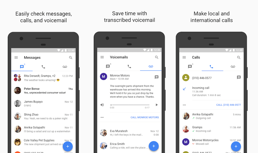 Google Voice receives huge update that adds DND, GIF image search and many other features
