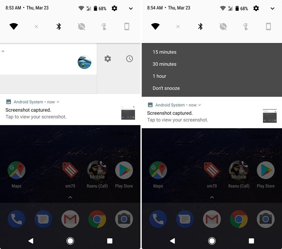 Resultado de imagen de android 8 notifications