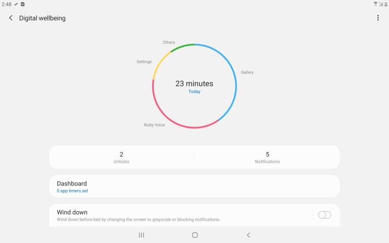 Android Pie Verizon Tab A 10.5