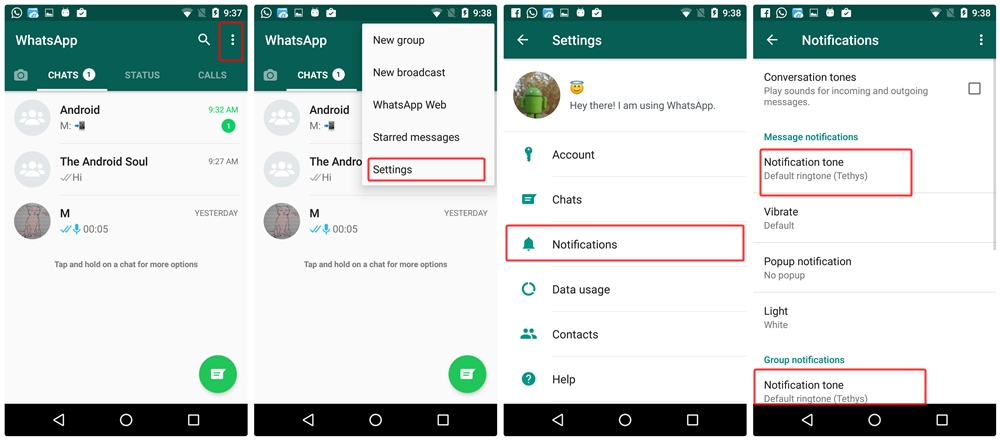How to change a group picture on whatsapp
