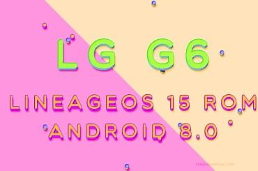 lg g6 LineageOS 15 rom