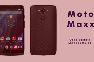 moto maxx Oreo update