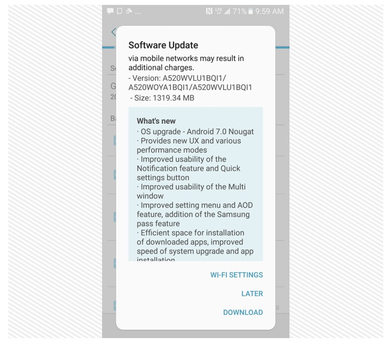 💋 Samsung a5 2017 android update | Update Samsung Galaxy A5