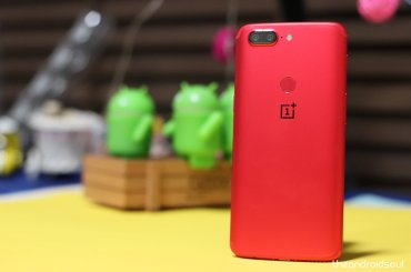 OnePlus 5T mobile phone