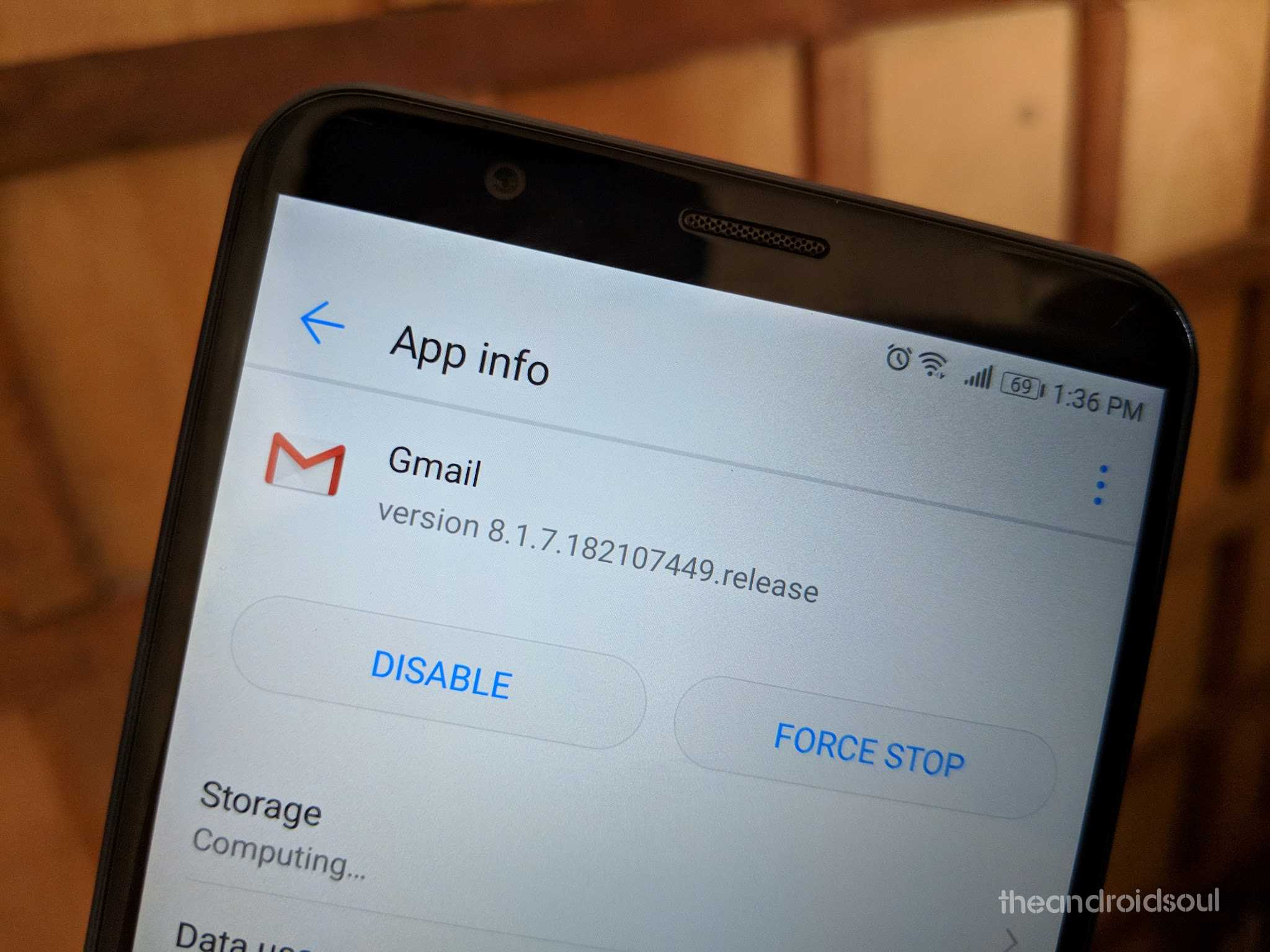 gmail 8.1 apk teardown