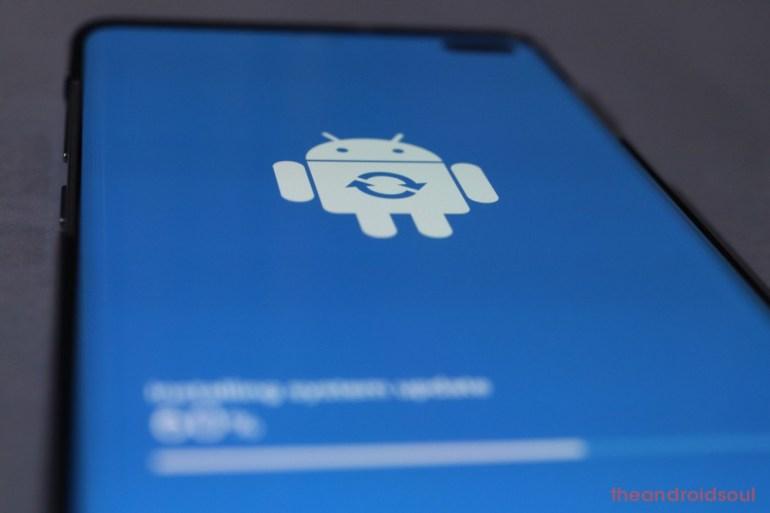 Galaxy S10 software update