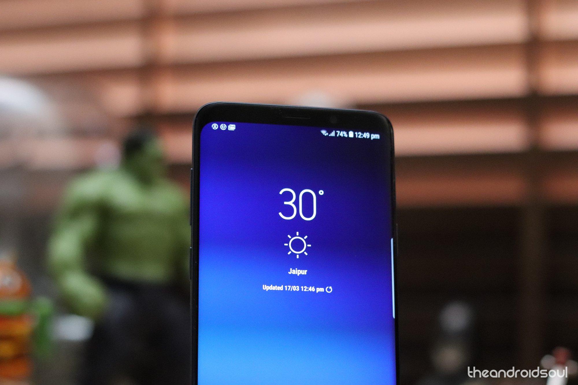 Galaxy S9 smartphone