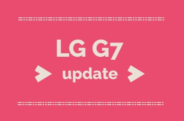 lg g7 update