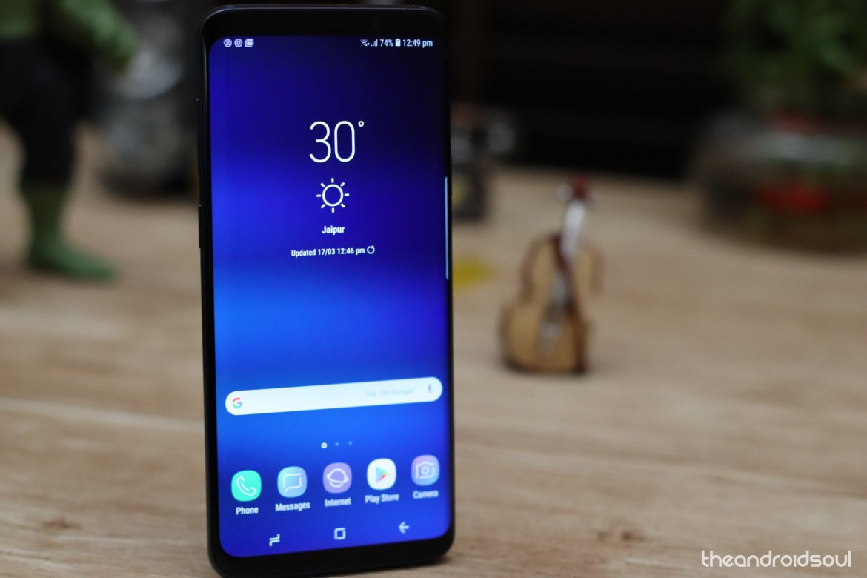 Samsung Galaxy S9 business phone