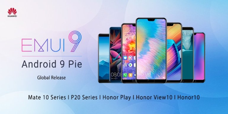 Huawei Android 9 Pie update