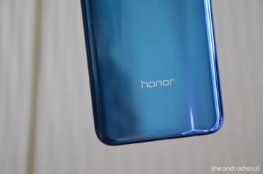 Honor 9 update