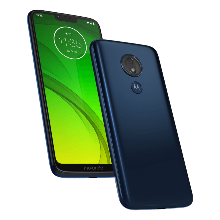 Moto G7 Power press renders - Blue and Purple