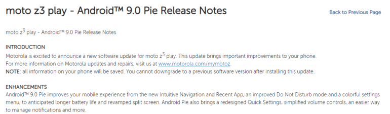 Moto Z3 Play Pie update (2)