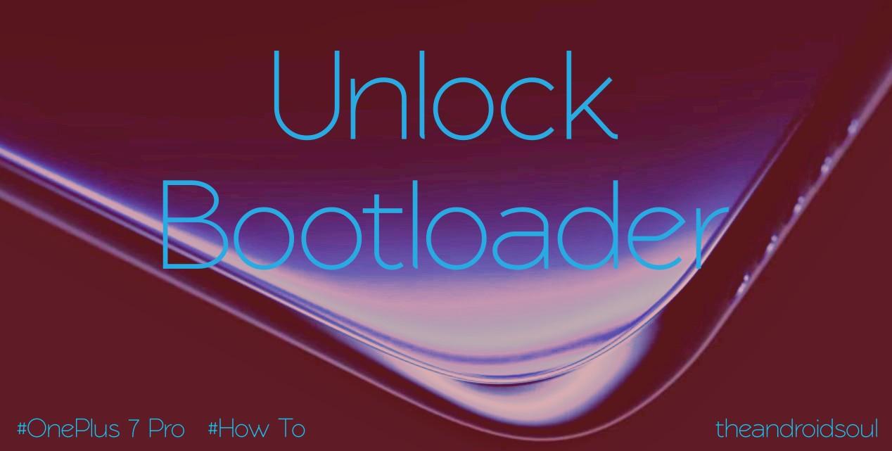 unlock bootloader on OnePlus 7 Pro