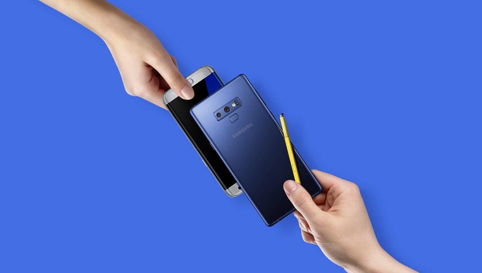 Galaxy Note 9 update