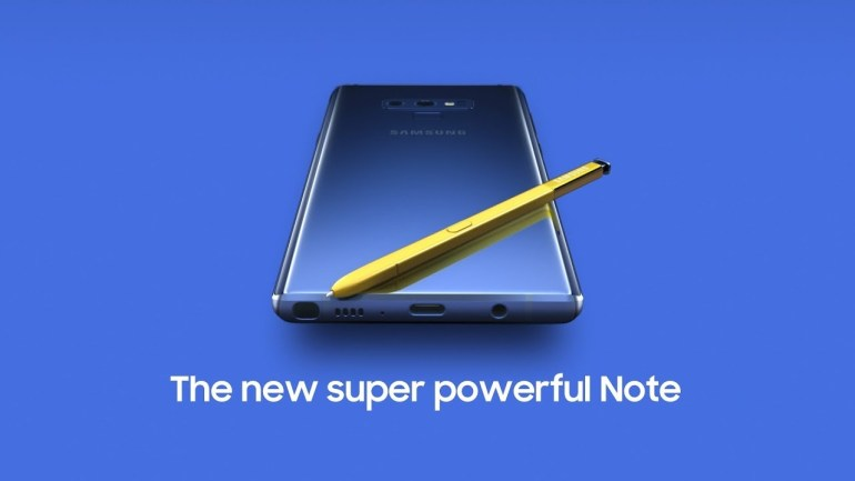 Galaxy Note 9 software update