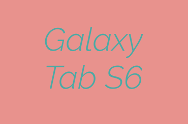 Tab S6