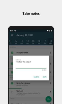 Habit tracking apps 21