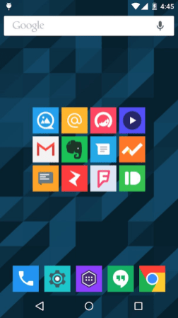 Square icon pack 18