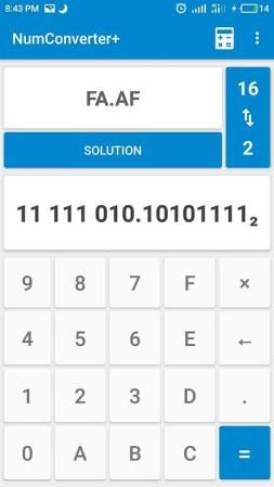 Numeral Systems: Calculator + Converter-2