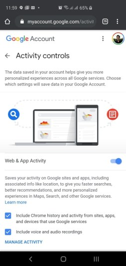 view location history chrome browser app (3)