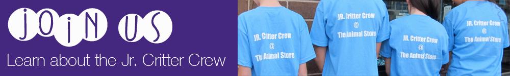 Jr. Critter Crew banner
