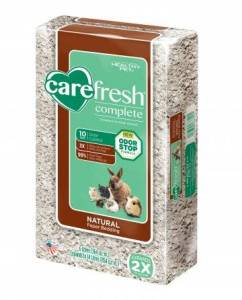 Litter training rabbits Carefresh Bedding