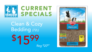 The Animal Store Clean & Cozy Bedding