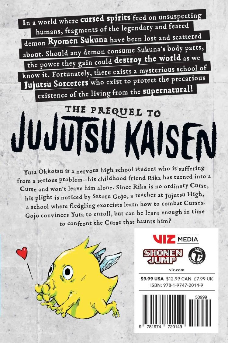 Jujutsu Kaisen 0 back