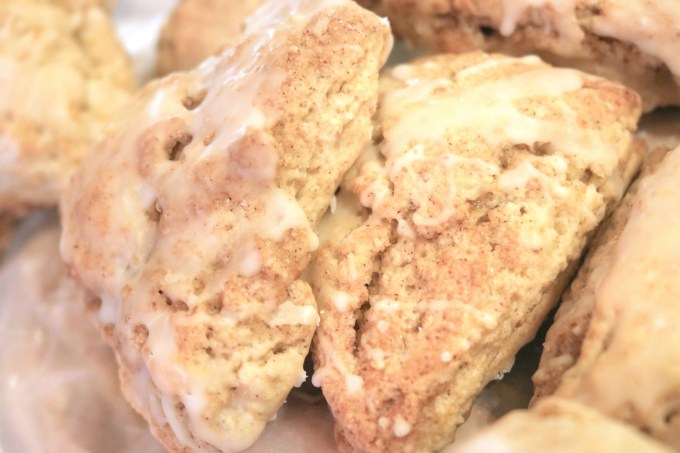 A recipe for cinnamon-orange scones featuring fresh orange and cinnamon. Perfect for fall weather and entertaining in cool, autumn months.