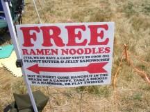 Free Ramen Noodles