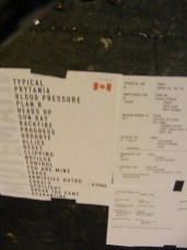 MUTEMATH Setlist