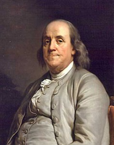 "When asked his secret to success, Ben Franklin said: ""I will speak ill of no man,"" he said, "" . . and speak all the good I know of everybody."""