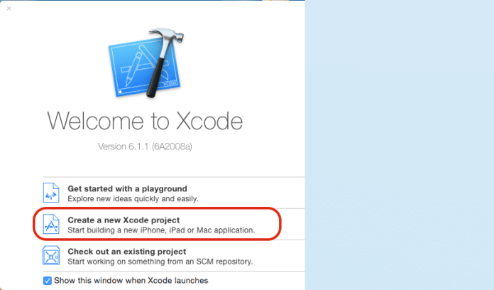 welcome-to-xcode