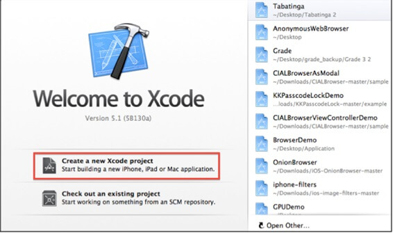 Wecome to Xcode