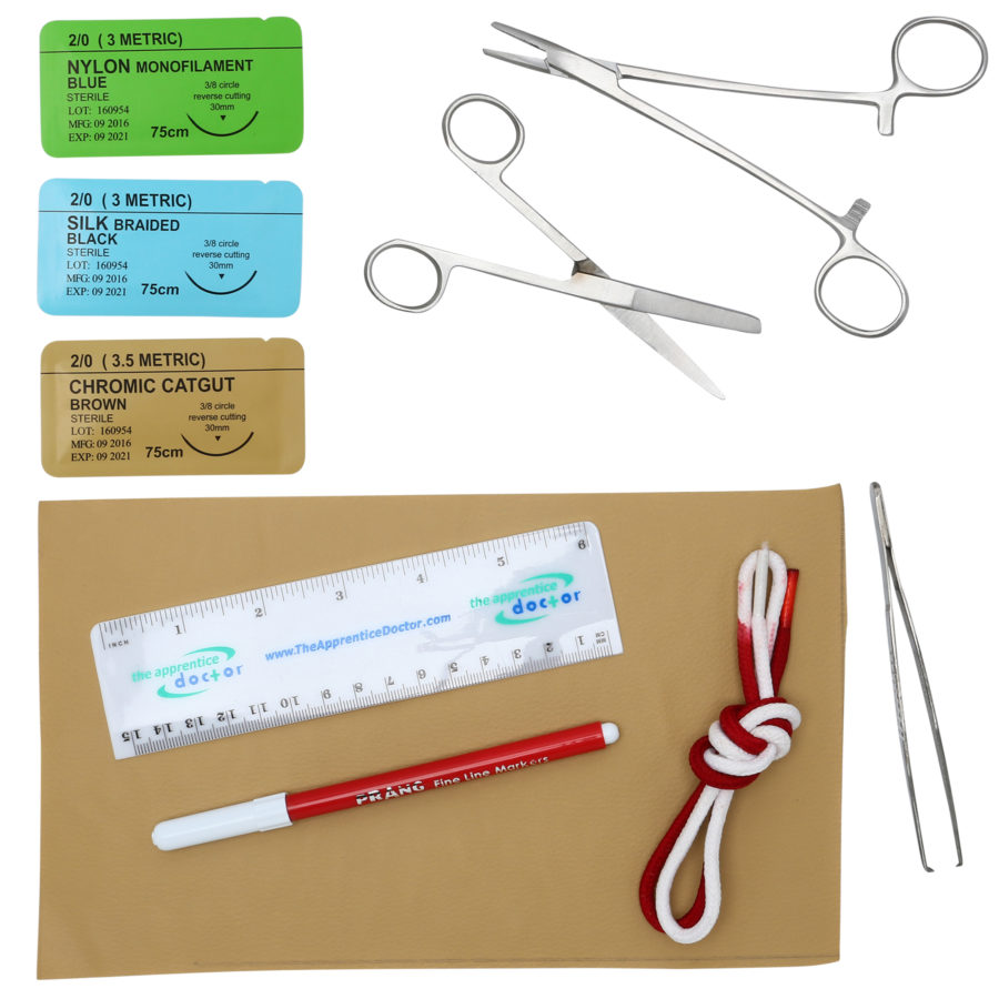 Suture Practice Kit with Improved Quality Instruments & an Accredited Online Suturing Course Created by an Experienced Surgeon with How-to Videos & Suturing Mastery Secrets – The Apprentice Doctor out of 5 stars /5(22).